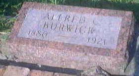 BURWICK, ALFRED - Woodbury County, Iowa | ALFRED BURWICK
