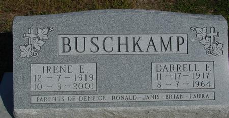 BUSCHKAMP, DARRELL F. & IRENE - Woodbury County, Iowa | DARRELL F. & IRENE BUSCHKAMP