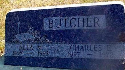 BUTCHER, CHARLES & ALTA - Woodbury County, Iowa | CHARLES & ALTA BUTCHER