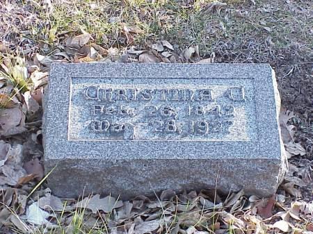 LARSON, CHRISTINA CHARLOTTA - Woodbury County, Iowa | CHRISTINA CHARLOTTA LARSON