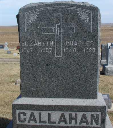 CALLAHAN, FAMILY MARKER - Woodbury County, Iowa | FAMILY MARKER CALLAHAN