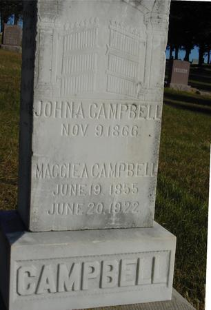 CAMPBELL, JOHN & MAGGIE - Woodbury County, Iowa | JOHN & MAGGIE CAMPBELL