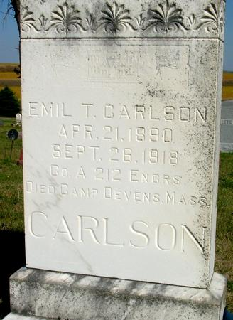 CARLSON, EMIL T. - Woodbury County, Iowa | EMIL T. CARLSON