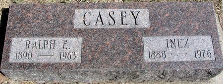 CASEY, RALPH E. & INEZ - Woodbury County, Iowa | RALPH E. & INEZ CASEY