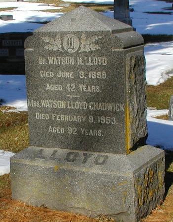 CHADWICK, ARRIE ANNA LLOYD - Woodbury County, Iowa | ARRIE ANNA LLOYD CHADWICK