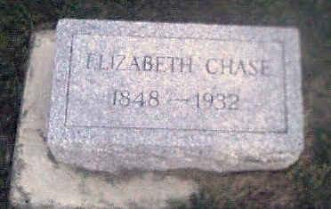CHASE, ELIZABETH - Woodbury County, Iowa | ELIZABETH CHASE