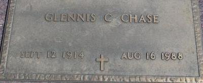 CHASE, GLENNIS C. - Woodbury County, Iowa   GLENNIS C. CHASE