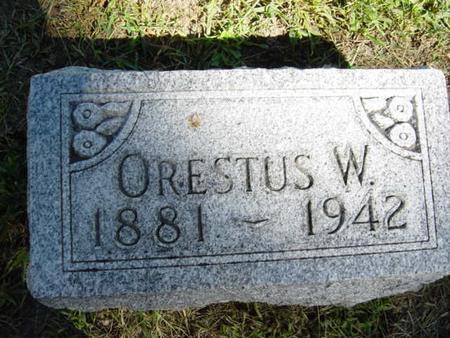 CHASE, ORESTUS W. - Woodbury County, Iowa | ORESTUS W. CHASE