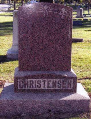 CHRISTENSEN, ANNA - Woodbury County, Iowa | ANNA CHRISTENSEN