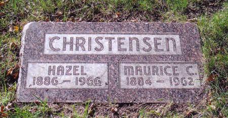 CHRISTENSEN, MAURICE - Woodbury County, Iowa | MAURICE CHRISTENSEN