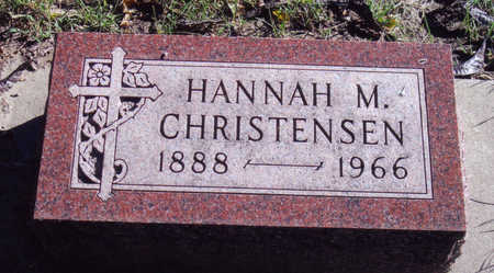 CHRISTENSEN, HANNAH - Woodbury County, Iowa   HANNAH CHRISTENSEN