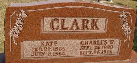 CLARK, CHARLES & KATE - Woodbury County, Iowa | CHARLES & KATE CLARK