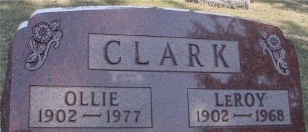 CLARK, LEROY & OLLIE - Woodbury County, Iowa | LEROY & OLLIE CLARK
