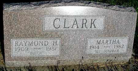 CLARK, RAYMOND & MARTHA - Woodbury County, Iowa | RAYMOND & MARTHA CLARK