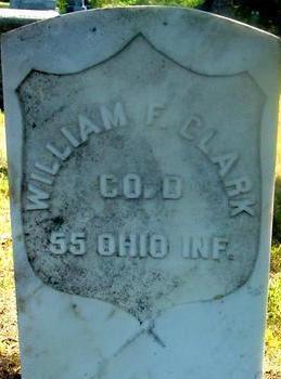 CLARK, WILLIAM F. - Woodbury County, Iowa   WILLIAM F. CLARK