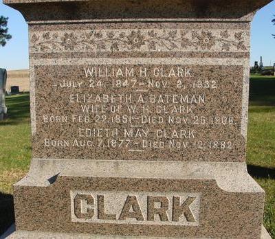 CLARK, WILLIAM H. - Woodbury County, Iowa | WILLIAM H. CLARK