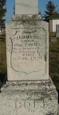 COE, WILLIAM L. - Woodbury County, Iowa | WILLIAM L. COE