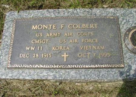COLBERT, MONTE F - Woodbury County, Iowa | MONTE F COLBERT