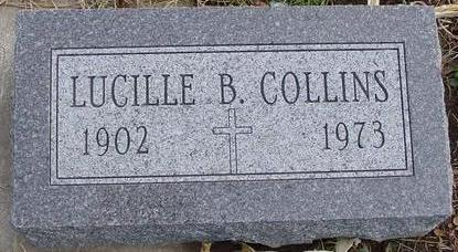 COLLINS, LUCILLE B. - Woodbury County, Iowa | LUCILLE B. COLLINS