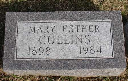 COLLINS, MARY ESTHER - Woodbury County, Iowa | MARY ESTHER COLLINS
