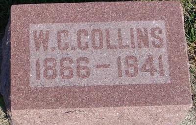 COLLINS, W. C. - Woodbury County, Iowa   W. C. COLLINS