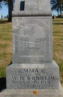CONKLIN, EMMA E. - Woodbury County, Iowa | EMMA E. CONKLIN