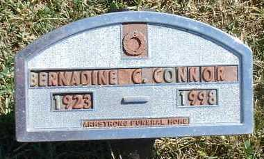 CONNOR, BERNADINE C. - Woodbury County, Iowa | BERNADINE C. CONNOR