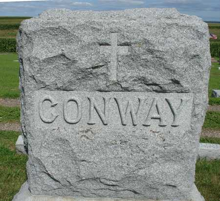 CONWAY, FAMILY MARKER - Woodbury County, Iowa | FAMILY MARKER CONWAY