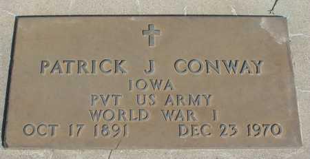 CONWAY, PATRICK J. - Woodbury County, Iowa   PATRICK J. CONWAY