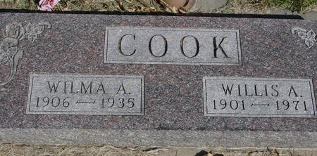 COOK, WILLIS & WILMA A. - Woodbury County, Iowa   WILLIS & WILMA A. COOK