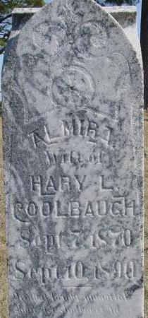 COOLBAUGH, ALMIRA - Woodbury County, Iowa   ALMIRA COOLBAUGH