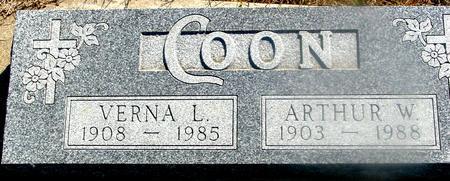 COON, ARTHUR & VERNA - Woodbury County, Iowa | ARTHUR & VERNA COON