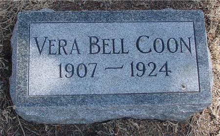 COON, VERA BELL - Woodbury County, Iowa | VERA BELL COON