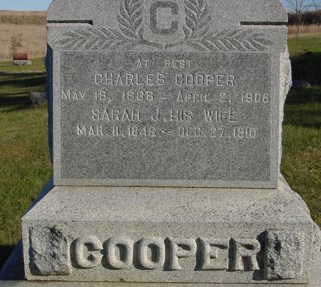 COOPER, CHARLES & SARAH - Woodbury County, Iowa | CHARLES & SARAH COOPER