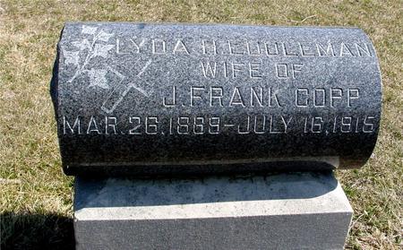 EDDLEMAN COPP, LYDA H - Woodbury County, Iowa | LYDA H EDDLEMAN COPP