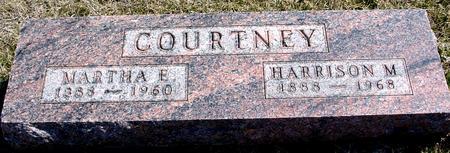 COURTNEY, HARRISON & MARTHA - Woodbury County, Iowa | HARRISON & MARTHA COURTNEY