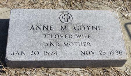 COYNE, ANNE M. - Woodbury County, Iowa | ANNE M. COYNE
