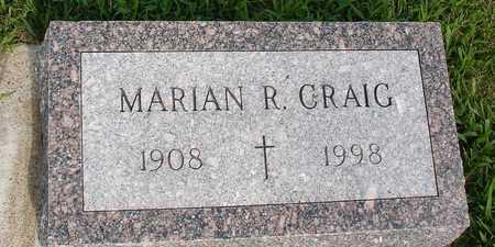 CRAIG, MARIAN R. - Woodbury County, Iowa | MARIAN R. CRAIG