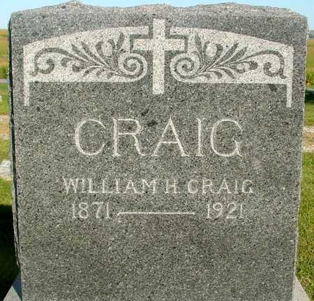 CRAIG, WILLIAM H. - Woodbury County, Iowa   WILLIAM H. CRAIG
