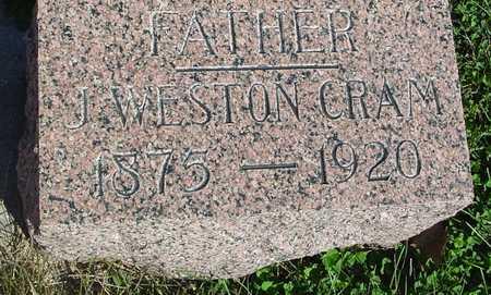CRAM, J. WESTON - Woodbury County, Iowa | J. WESTON CRAM