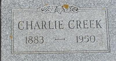 CREEK, CHARLIE - Woodbury County, Iowa | CHARLIE CREEK
