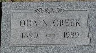 CREEK, ODA N. - Woodbury County, Iowa | ODA N. CREEK
