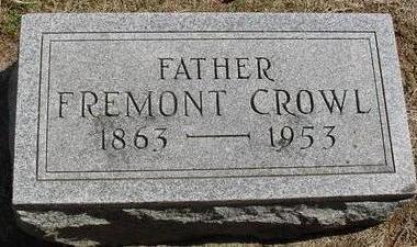 CROWL, FREMONT - Woodbury County, Iowa   FREMONT CROWL