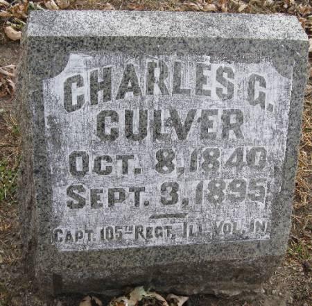 CULVER, CHARLES G. - Woodbury County, Iowa | CHARLES G. CULVER