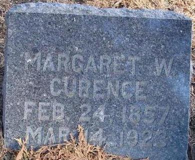 CURRENCE, MARGARET W. - Woodbury County, Iowa | MARGARET W. CURRENCE