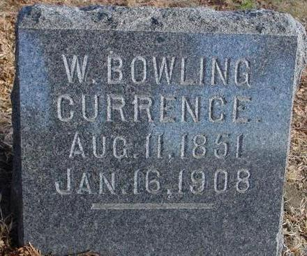 CURRENCE, W. BOWLING - Woodbury County, Iowa | W. BOWLING CURRENCE