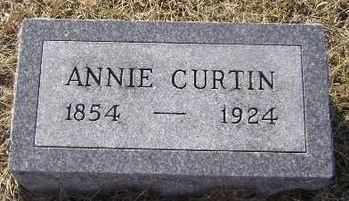 CURTIN, ANNIE - Woodbury County, Iowa | ANNIE CURTIN
