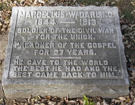 DARLING, MARCELLUS WARNER - Woodbury County, Iowa   MARCELLUS WARNER DARLING