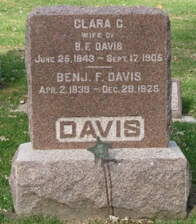 DAVIS, BENJAMIN F. - Woodbury County, Iowa | BENJAMIN F. DAVIS