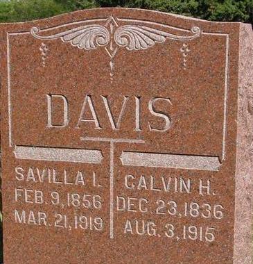 DAVIS, CALVIN H. - Woodbury County, Iowa   CALVIN H. DAVIS